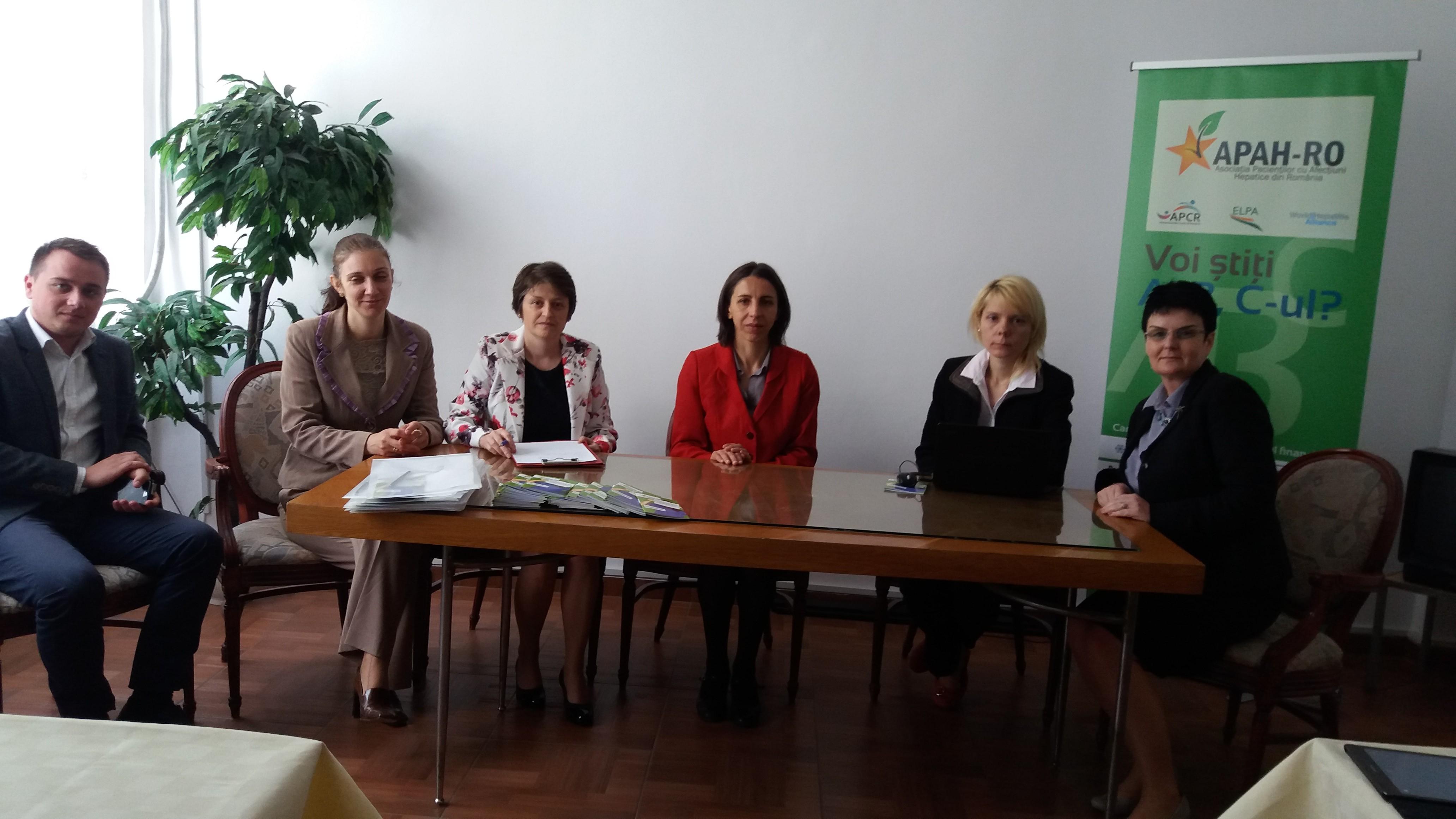 Conferinta lansare Proiect APAH RO - Filiala Iasi