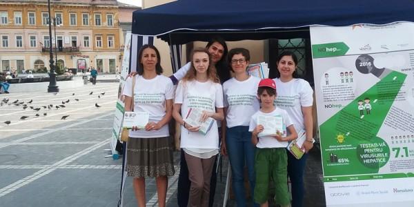 Campanie Informare Hepatita Brasov 2016