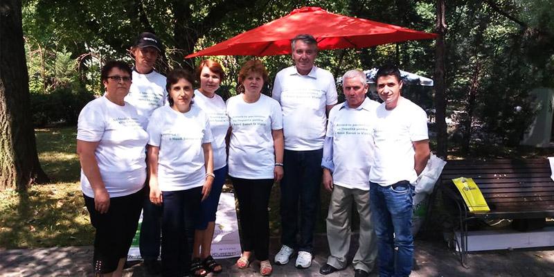 campanie informare hepatita bucuresti 2016